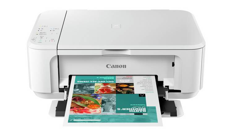 Canon PIXMA MG3650S Wireless Inkjet Printer - White