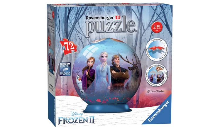 Disney Frozen 2 72 Piece 3D Puzzle