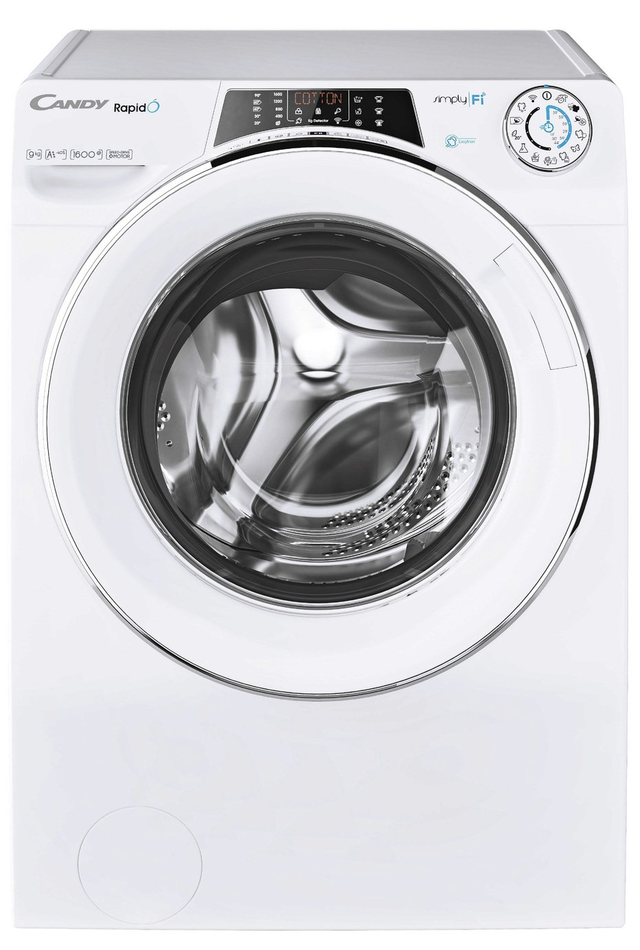 Candy Rapido RO1695DWHC7 9KG 1600 Spin Washing Machine