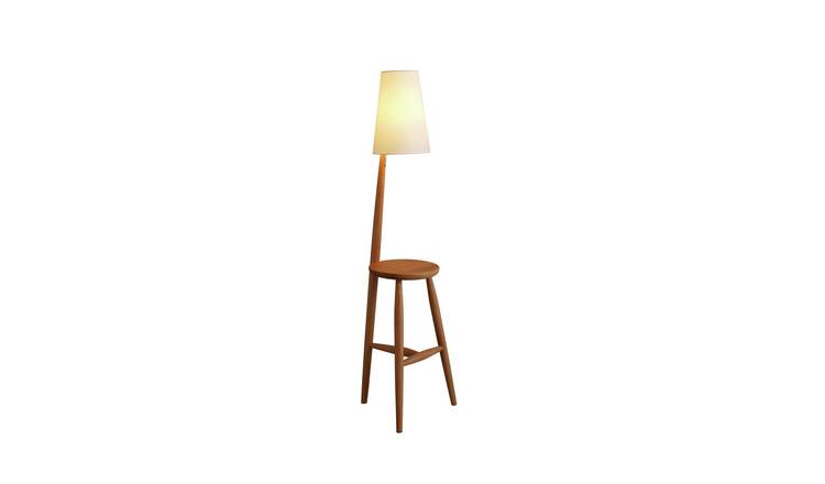 Habitat Wallace Complete Floor Lamp - Oak