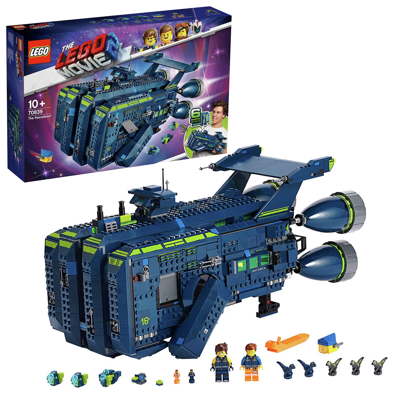 LEGO Movie 2 The Rexcelsior! Spaceship Building Set - 70839