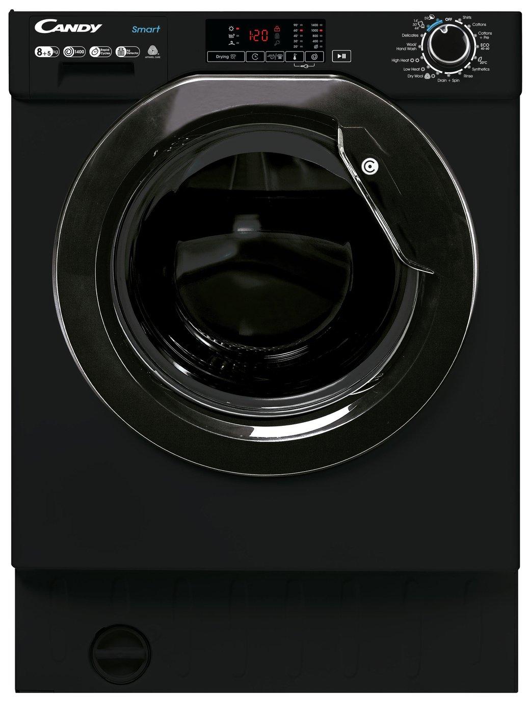 Candy CBD 485D1BBE/1 8KG/5KG Integrated Washer Dryer - Black