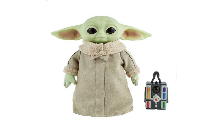 Star Wars Mandalorian The Child Baby Yoda Real Moves Plush