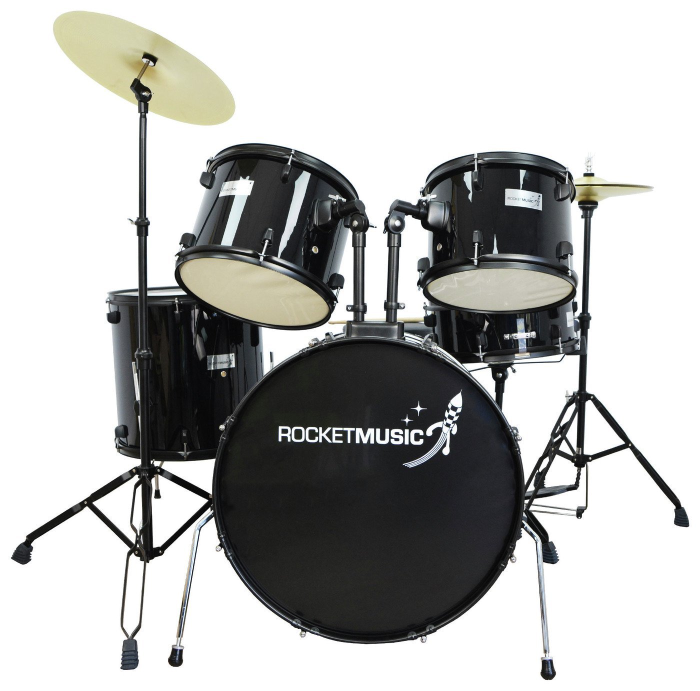 Rocket 5 Piece Rock Drum Kit