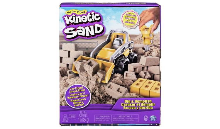 Kinetic Sand Dig and Demolish Set