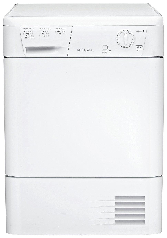 Hotpoint FET70BPUK 7KG Condenser Tumble Dryer - White
