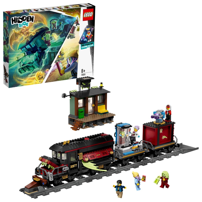 LEGO Hidden Side Ghost Train Express AR Lego Games 70424