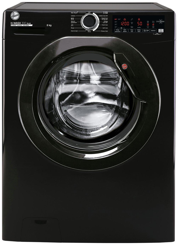 Hoover H3WS685TAEB 8KG 1600 Spin Washing Machine - Black