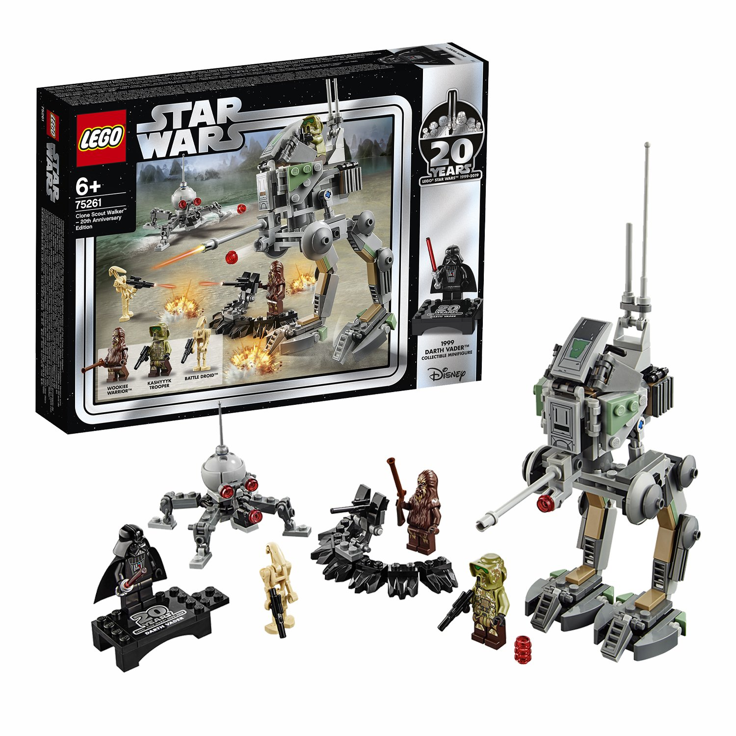 LEGO Star Wars Scout Walker 20th Anniversary Set - 75261