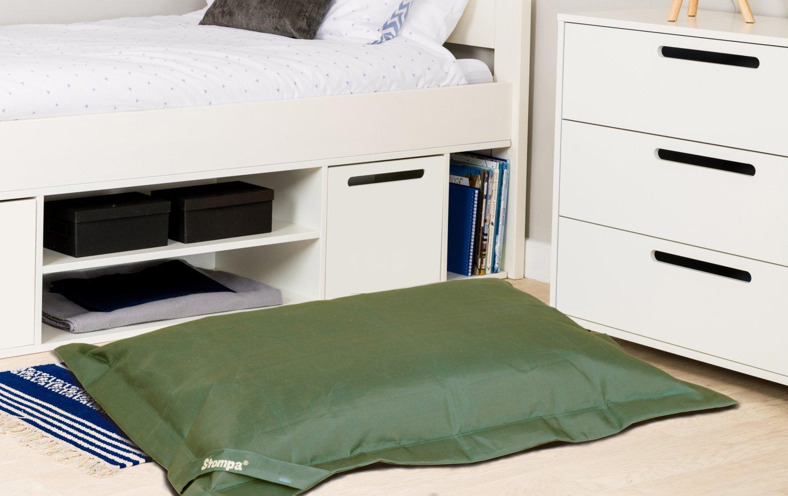 Stompa Extra Large Floor Beanbag - Khaki