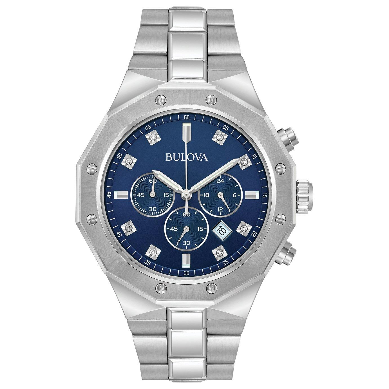 Bulova Men's Chronograph Stainless Steel Bracelet Watch