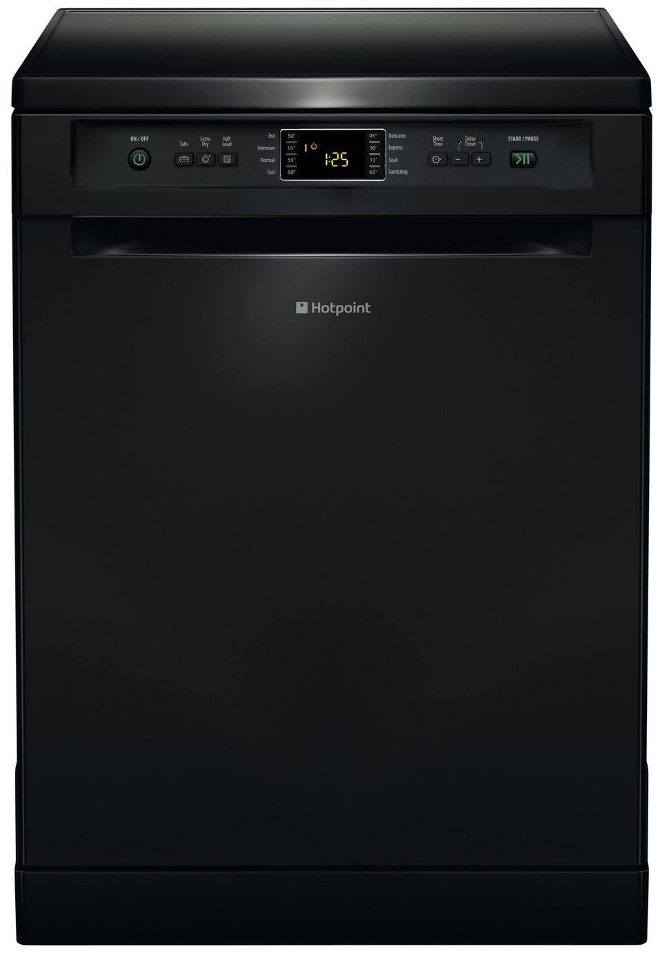 Hotpoint FDFEX11011K Full Size Dishwasher - Black