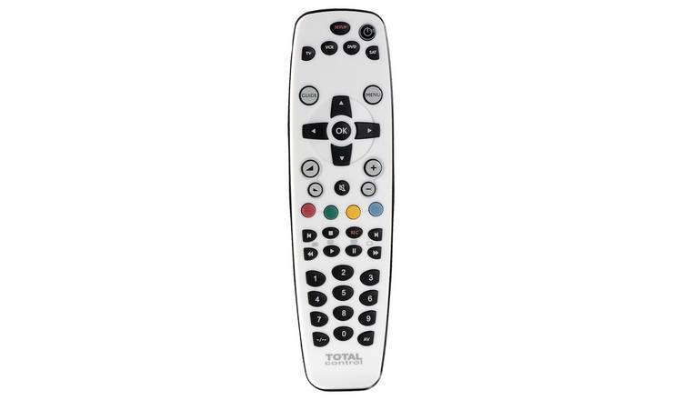 Total Control URC2940 4-Way Universal Remote Control - White