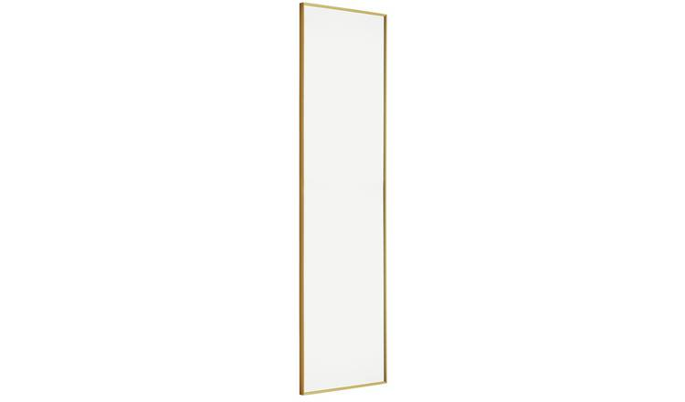 Habitat Kupari Gold Full Length Wall Mirror