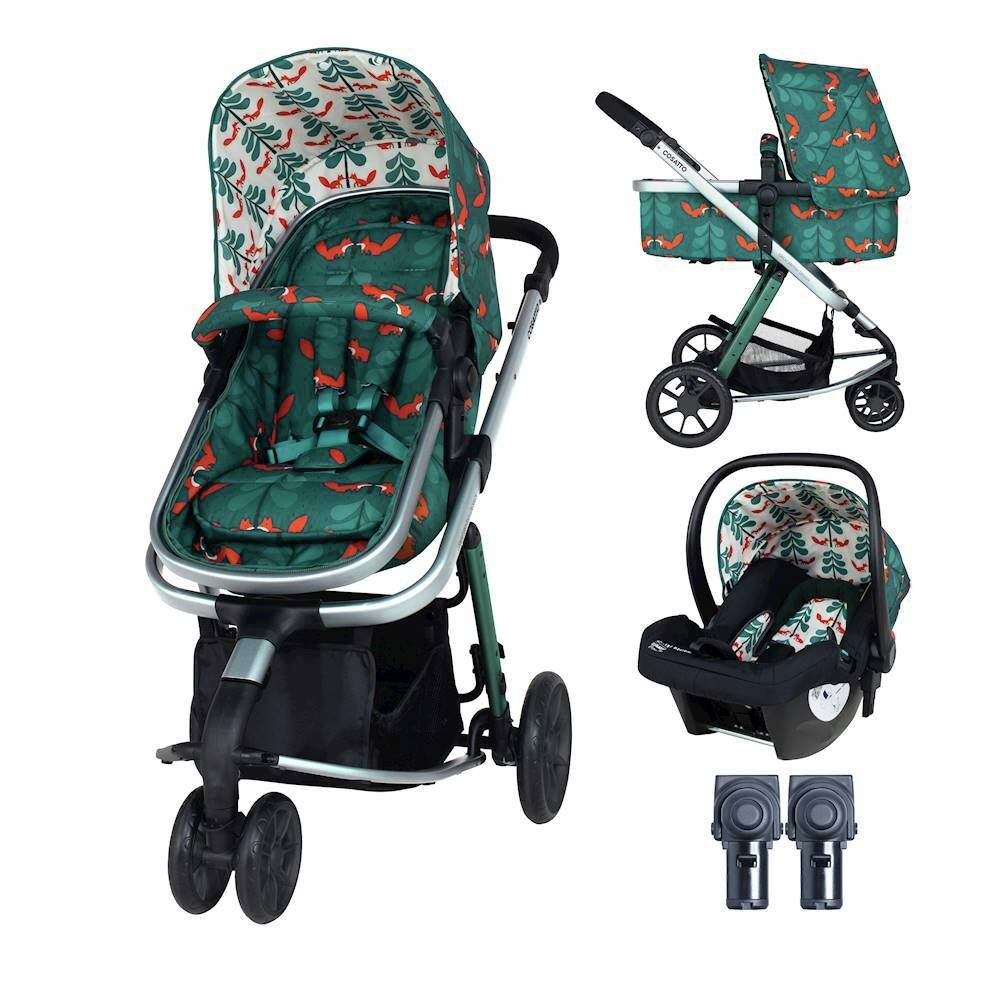 Cosatto Giggle 2 in 1 Travel System Fox Friends