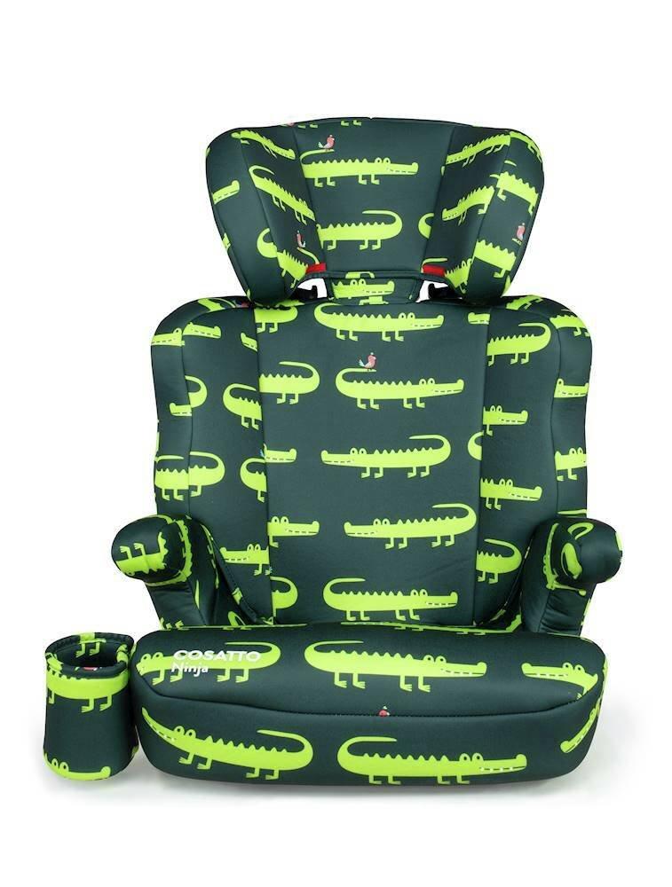 Cosatto Ninja Group 2/3 Car Seat Crocodile Smiles