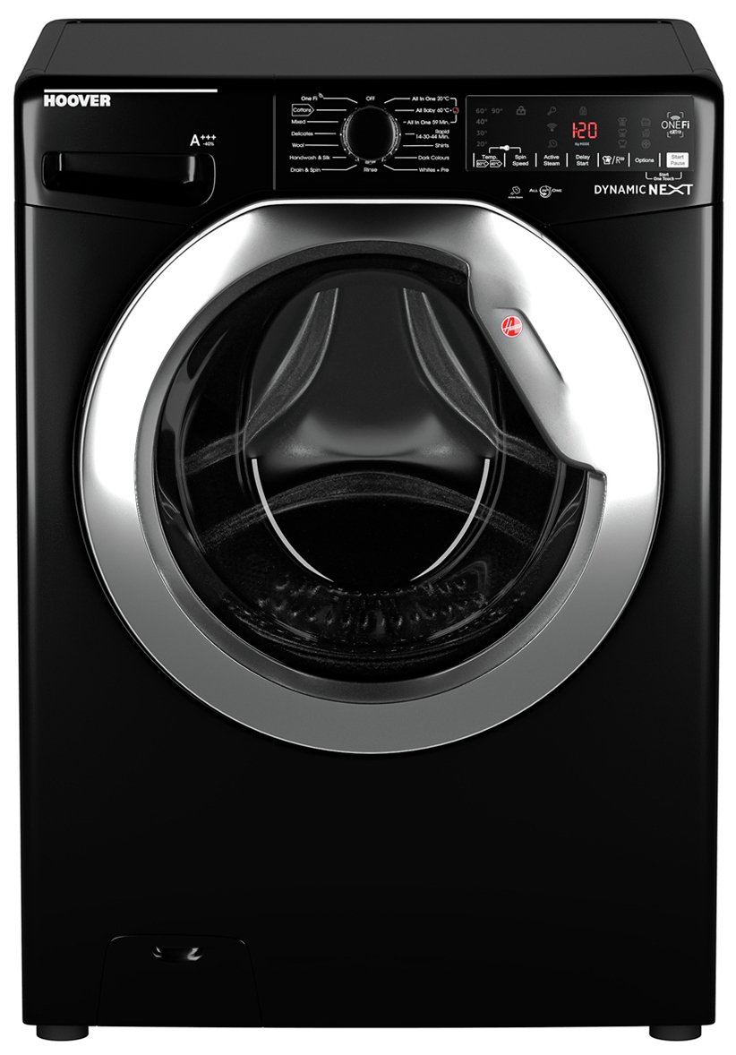 Hoover DWOA411AHC8B 11KG 1400 Spin Washing Machine - Black
