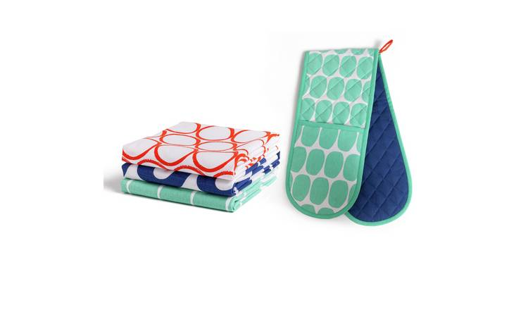 Habitat Mix it up Kitchen Textiles Set