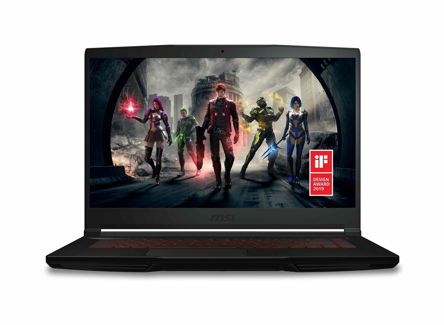 MSI GF63 15.6 Inch i5 8GB 128GB 1TB GTX1650 Gaming Laptop