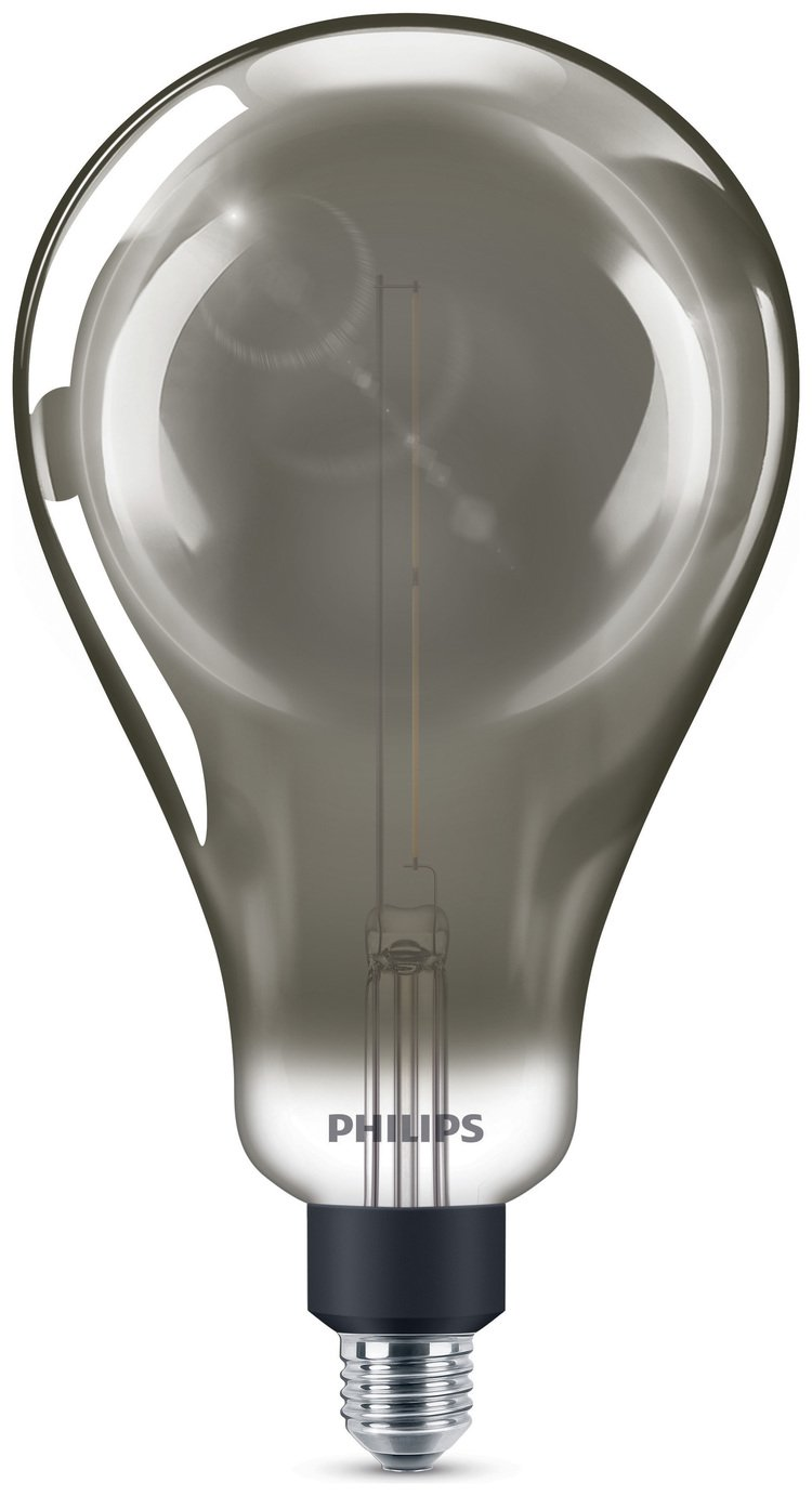 Philips LED Filament E27 6.5W (25W) Dim Giant Bulb - Smoky