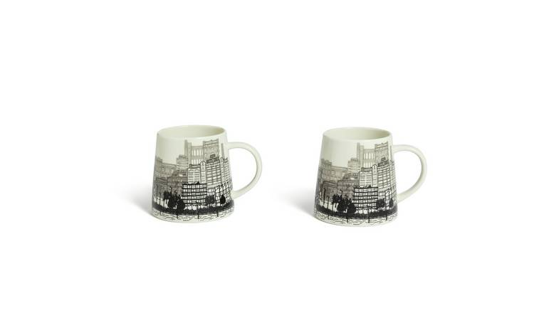 Habitat Loft Living Set of 2 Mugs