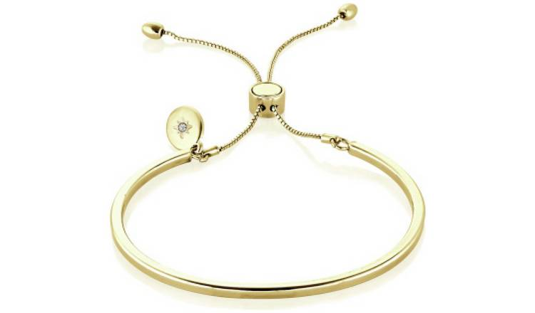 Buckley London Piccadilly Yellow Colour Bangle