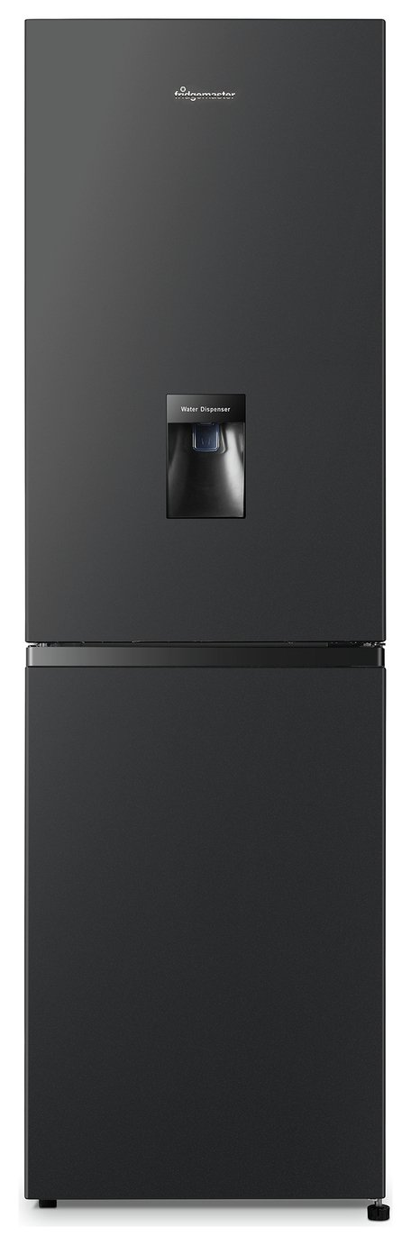Fridgemaster MC55240MDB Fridge Freezer - Black Best Price, Cheapest Prices