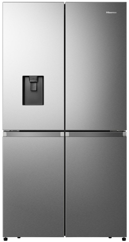 Hisense RQ758N4SWI1 American Fridge Freezer - StainlessSteel