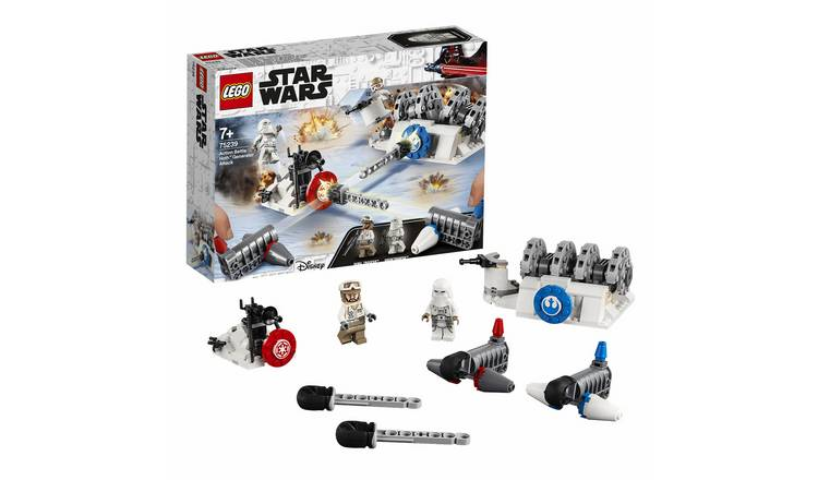 LEGO Star Wars Battle Hoth Generator Attack Toy - 75239