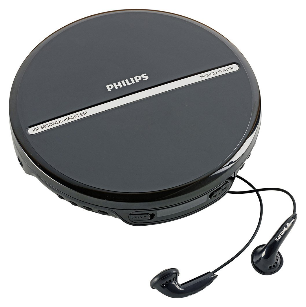 Philips EXP2546/05 Personal CD Player - Black