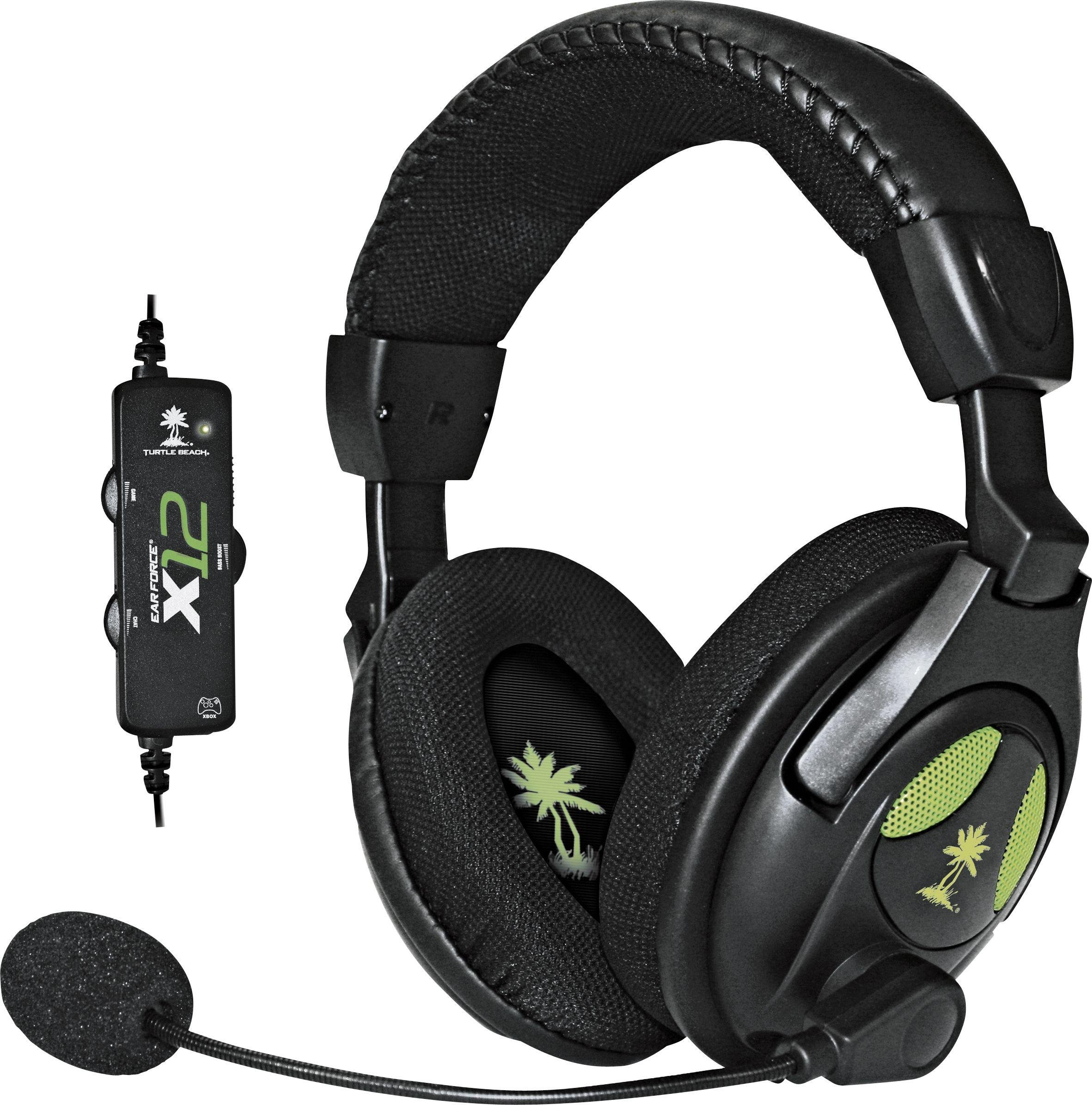 'Turtle Beach X12 Gaming Headset For Xbox 360 & Pc.