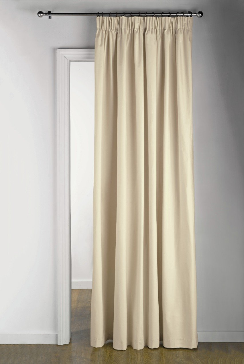 Buy HOME Thermal Door Curtain - 117x212cm - Cream at Argos.co.uk - Your Online Shop for Curtains Blinds curtains and accessories Home furnishings ...