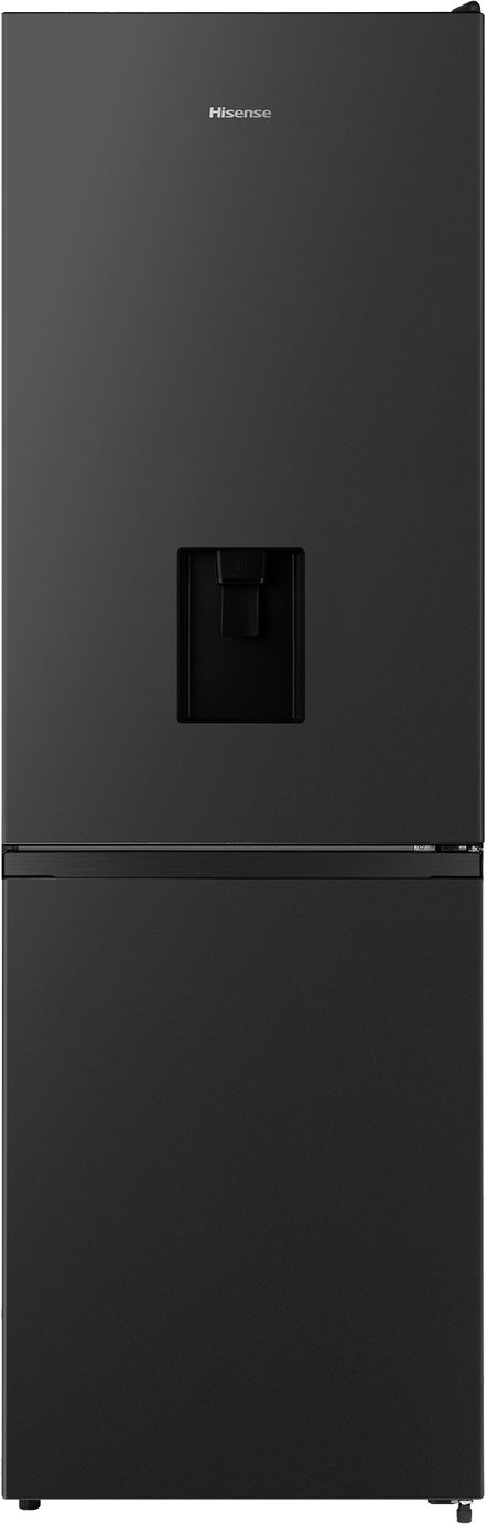 Hisense RB390N4WB1 70/30 Frost Free Fridge Freezer - Black - A+ Rated