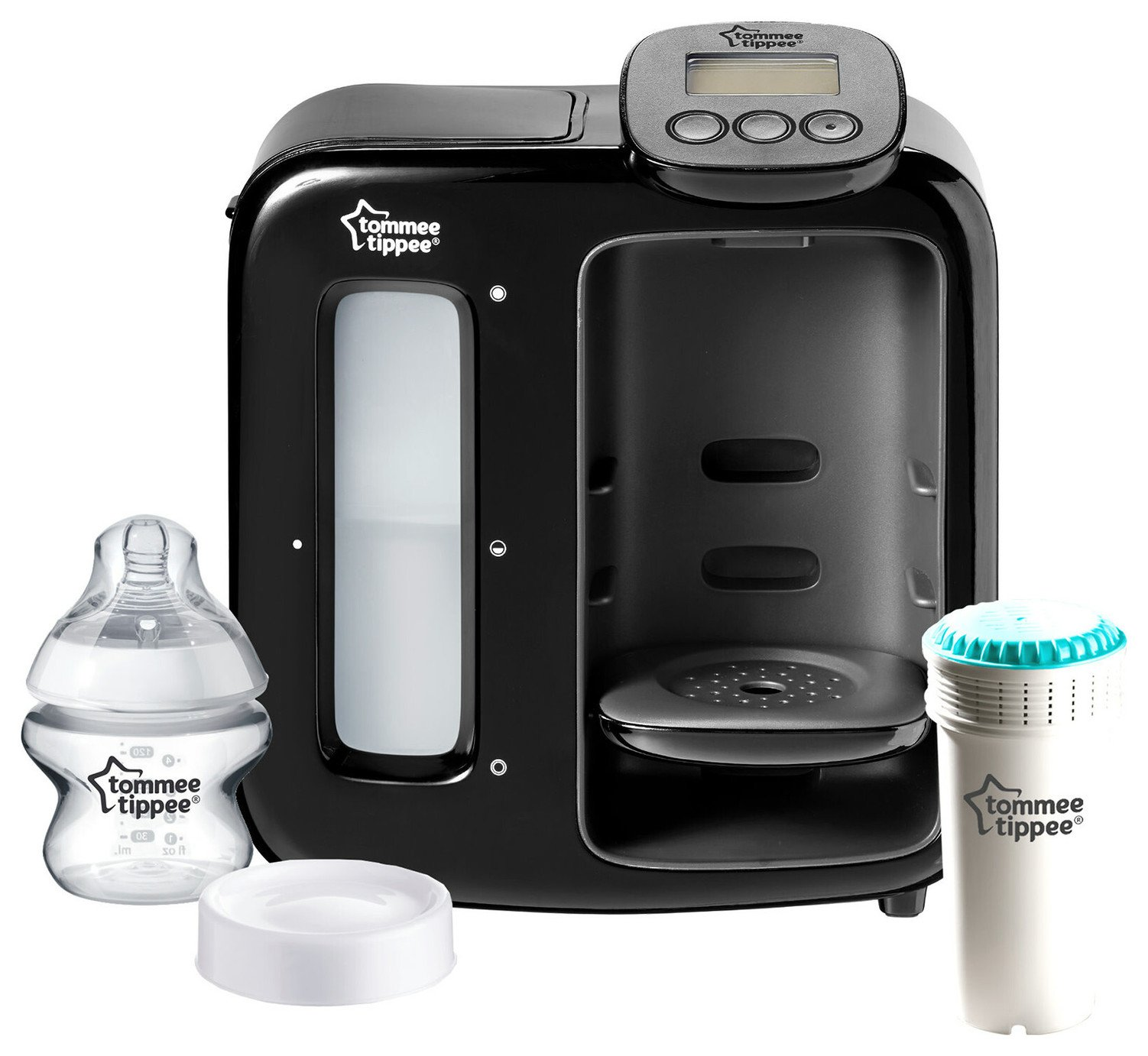 Tommee Tippee Perfect Prep Day & Night Black