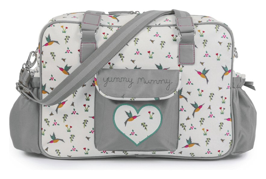 Pink Lining Yummy Mummy Changing Bag - Hummingbird