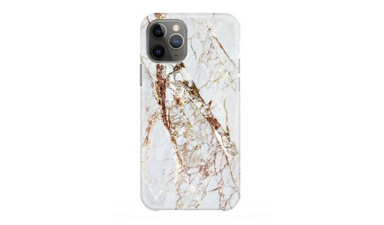 Coconut Lane iPhone 11 Phone Case - Rose Gold Marble