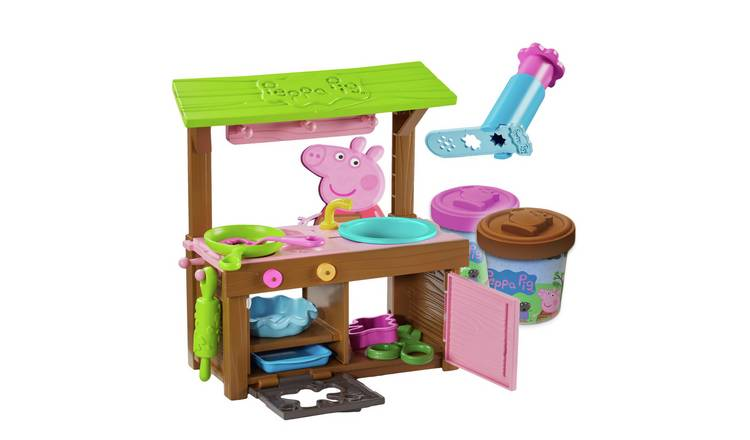 Peppa Mud Kitchen Dough Set
