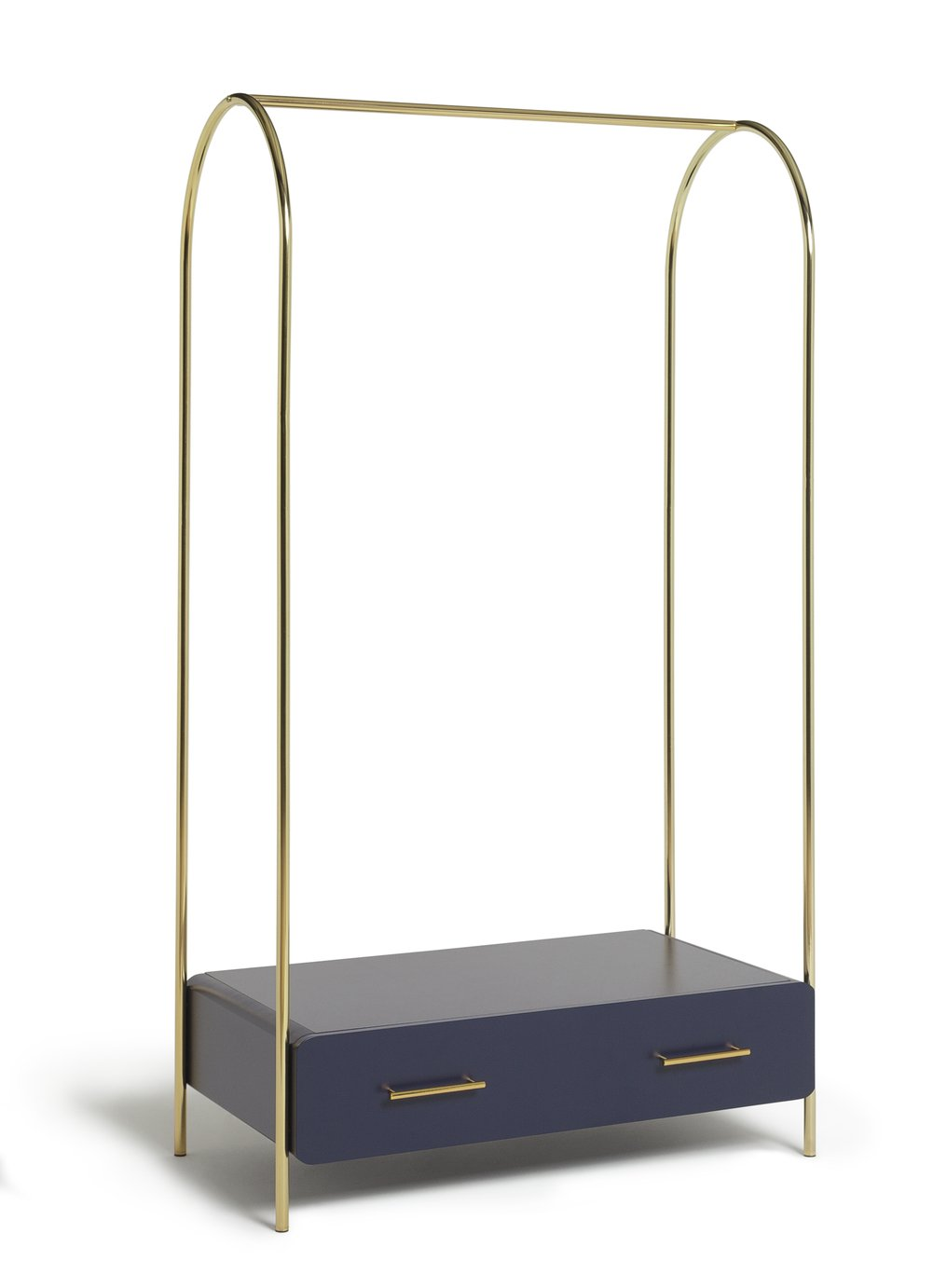 Habitat Wilderness Clothes Rail with Drawer - Blue
