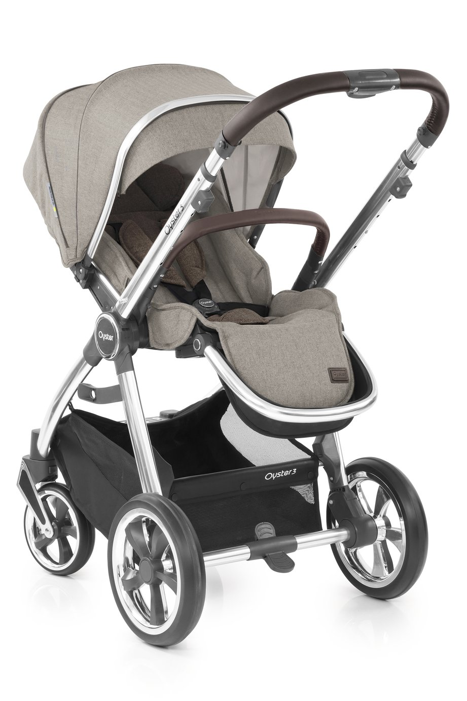 Oyster 3 Pushchair - Pebble