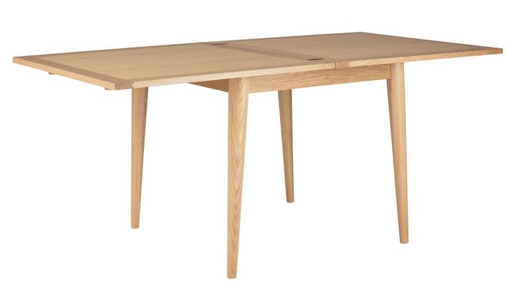 Habitat Lincoln Oak Flip Top 4-8 Seat Dining Table