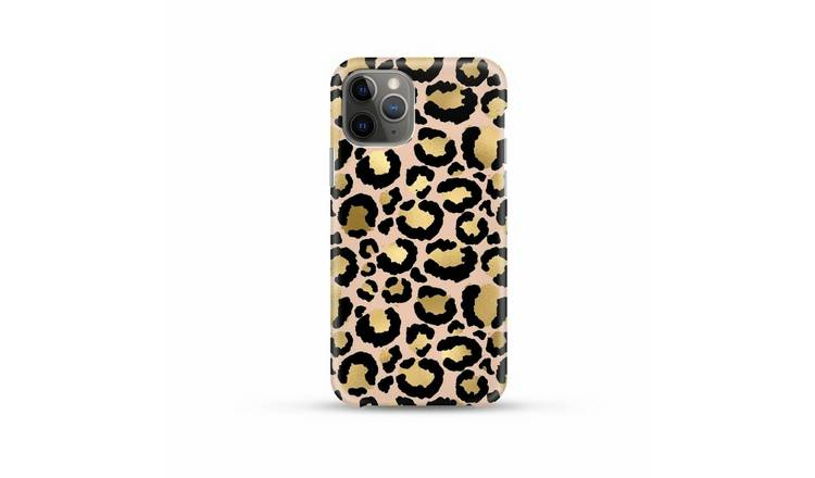 Coconut Lane iPhone 6/7/8 Plus Gold Leopard Phone Case