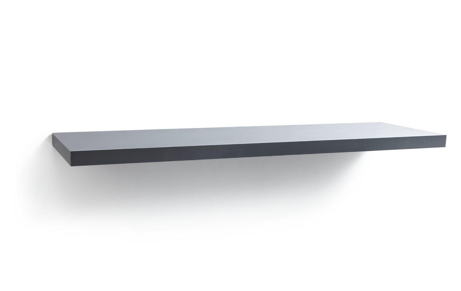 Habitat Jak 120cm Floating Shelf - Grey