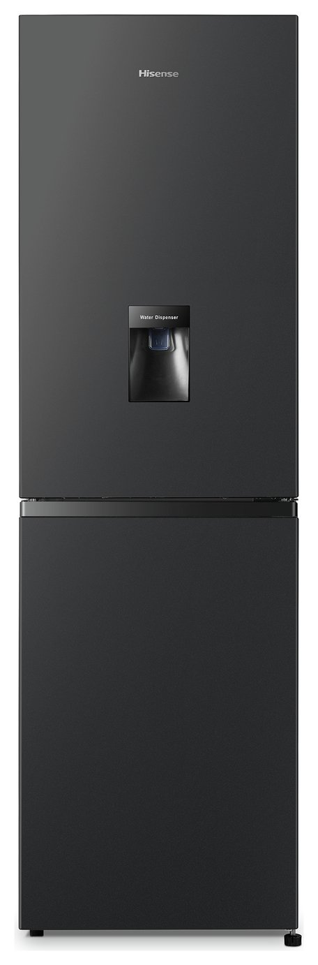 Hisense RB327N4WB1 Frost Free Fridge Freezer - Black