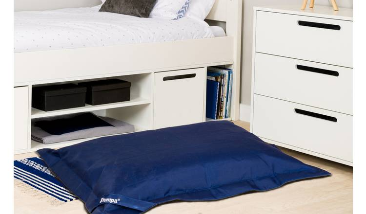 Stompa Extra Large Floor Beanbag - Navy