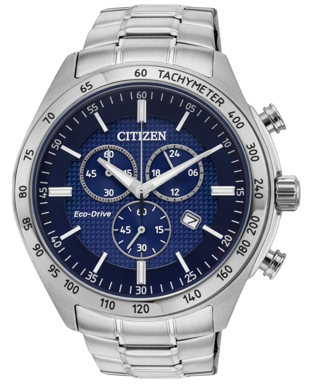Citizen Men's Eco-Drive Stainless Steel Bracelet Watch
