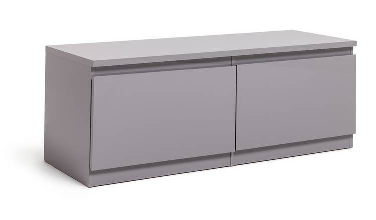 Habitat Jenson 2 Door TV Unit - Grey
