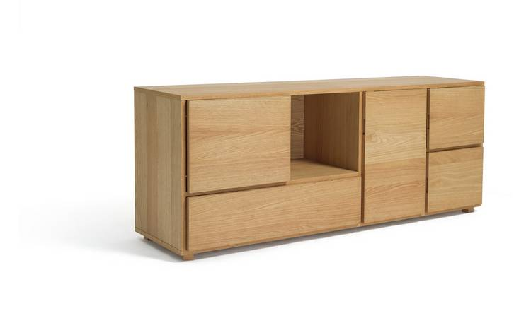 Habitat Block 1 Drawer Storage Sideboard - Oak
