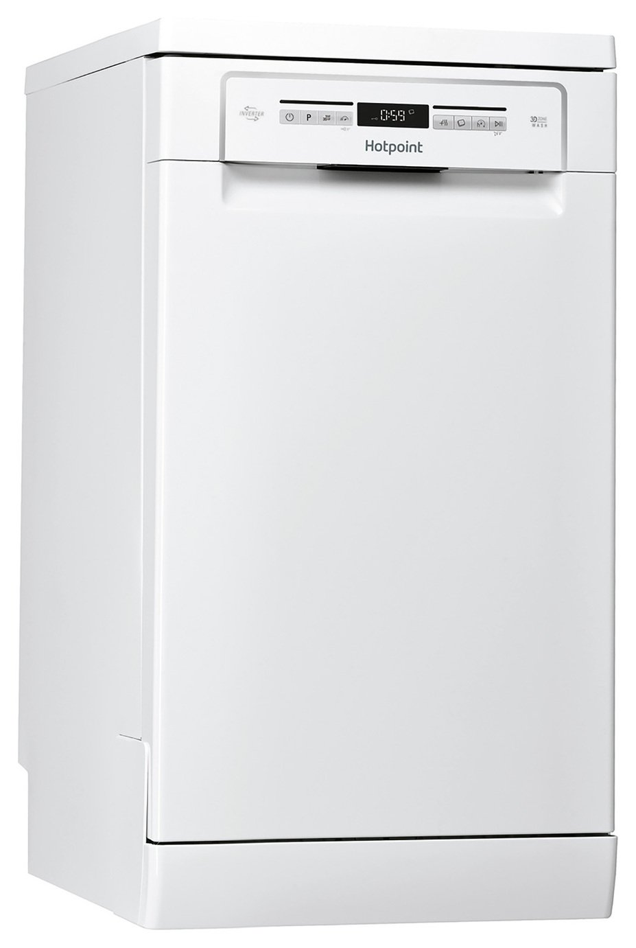 Hotpoint HSFO3T223WUK Slimline Dishwasher - White