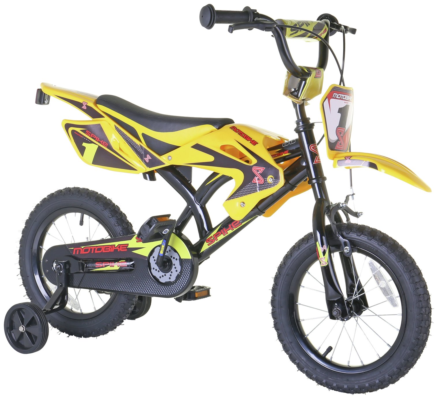 Spike 14 Inch Motorbike Style Kid's Bike