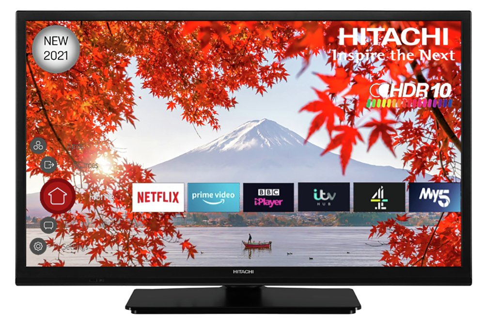 Hitachi 24 Inch 24HE2200U Smart HD Ready Freeview TV